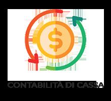 Consente la tenuta della contabilità per cassa, la stampa del rendiconto entrate/uscite ed il rendiconto di gestione