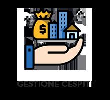 Consente il caricamento e la gestione del registro cespiti e l'assegnazione tramite note di carico e scarico