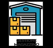 Consente la gestione della movimentazione degli articoli e dell'inventario e il controllo delle giacenze